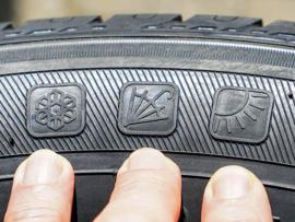 all season tire markings