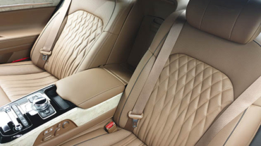 beige leather car seats