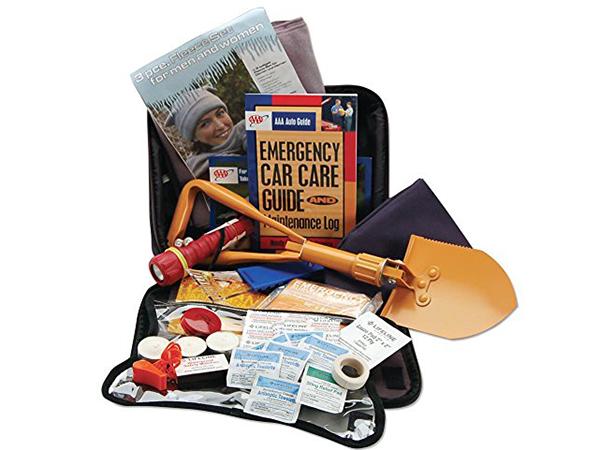 AAA 65 Piece Winter Severe Weather Travel Kit
