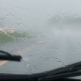Fogged windshield an wipers