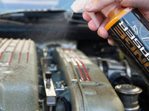 Orange engine degreaser