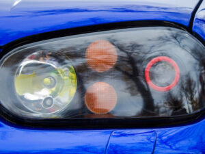 Modified xenon (HID) headlights