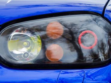 Modified xenon (HID) headlights